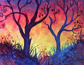 Spring Passion at SimonHolt - Paint Nite Events