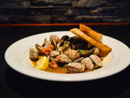 Steamed Local Clams