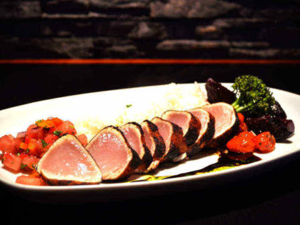 Blackened Albacore Tuna