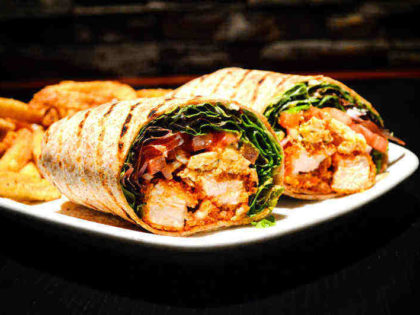 Chicken & Brie Wrap