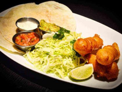 Deconstructed Baja Tacos