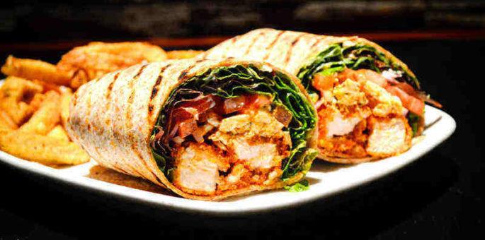 Chicken & Brie Wrap
