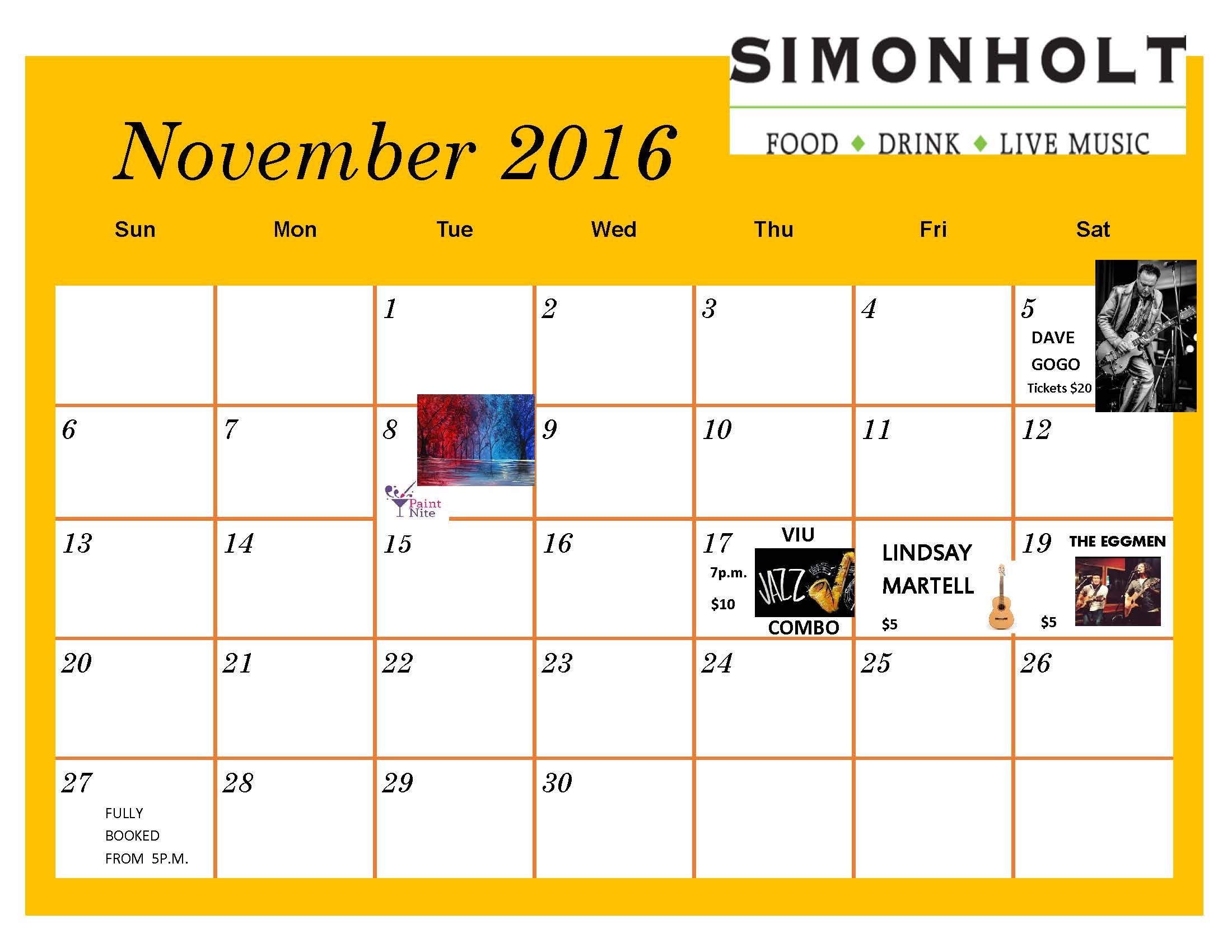 e234c724bb87 Simonholt Calendar Nov 2016
